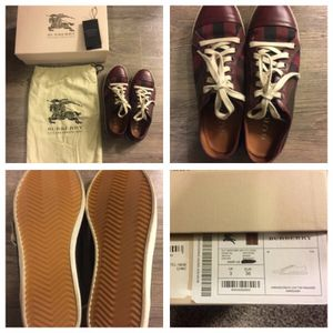 NEW Authentic Burberry sneaker for Sale in West Valley City, UT