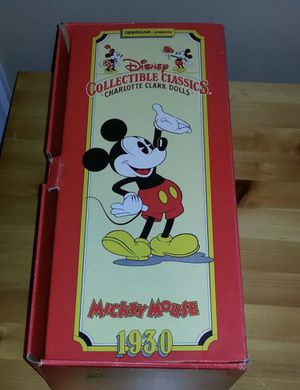 Charlotte Clark's Mickey Mouse 1930 collectibles doll for Sale in Baltimore, MD