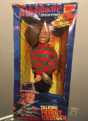 Matchbox Talking Freddy Krueger Doll Vintage in Box as New. for Sale in Seattle, WA