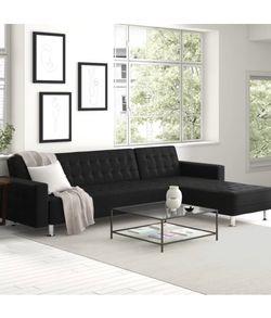 Black Sleeper Sectional for Sale in Winter Garden,  FL