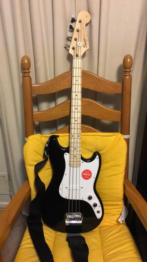 Squier Bronco Bass Guitar for Sale in Takoma Park, MD