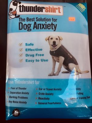 thunder shirt DOG ANXIETY for Sale in Rockville, MD