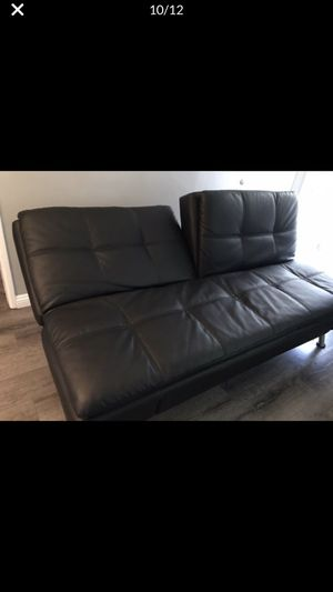 Leather Futon for Sale in Norwalk, CA