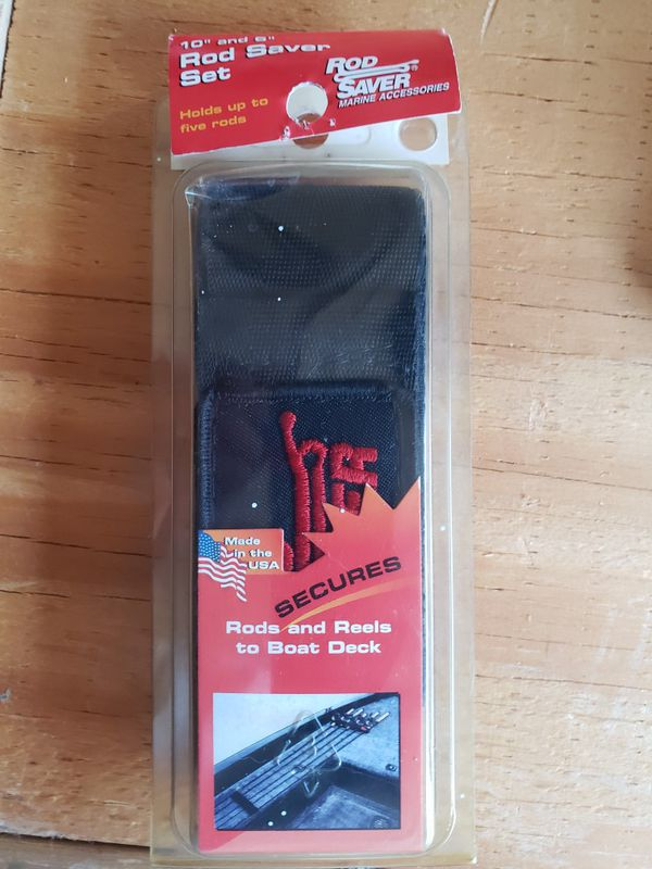 Rod saver holds your fishing rods in place