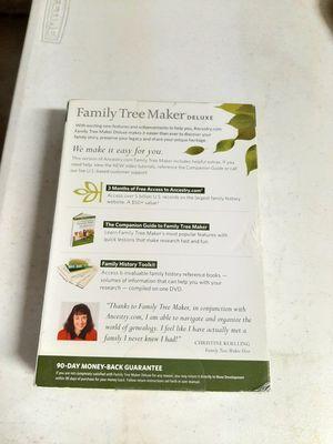 Family tree maker for Sale in Grand Prairie, TX