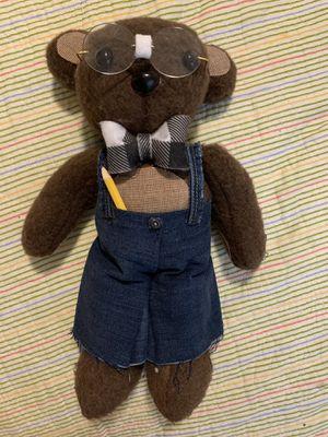 Hand-sewn Teddy Bear Nerd for Sale in Wichita, KS
