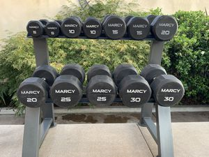Dumbell Set and Rack for Sale in West Covina, CA
