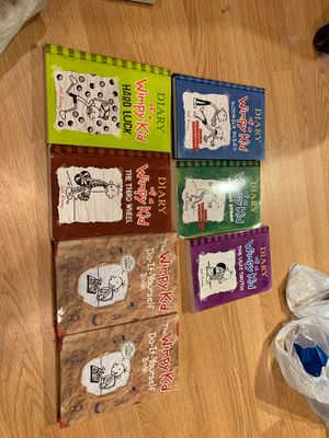 Diary of a wimpy kid set for Sale in Prospect, CT