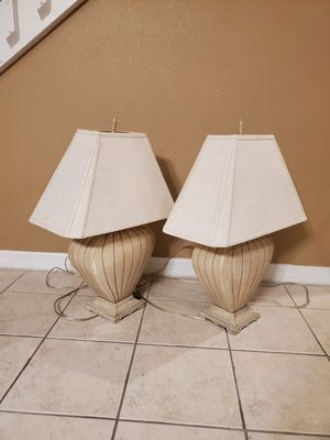 2 lamps for Sale in Fort Myers, FL