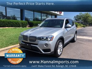 2017 BMW X3 for Sale in Raleigh, NC