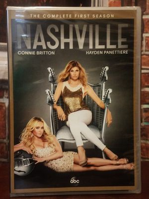 Nashville The Complete First Season 5 Disc Set Country TV DVD 1 for Sale in Tampa, FL