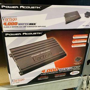 Power Acoustik 4000 Monoblock Amp for Sale in San Bernardino, CA