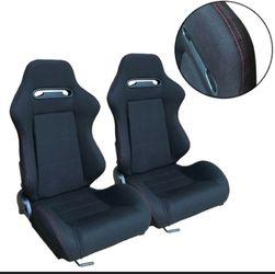 Racing Seats ( JDM)Seats 💺 $200.00 OBO OBO IM VERY REASONABLE for Sale in Fresno,  CA