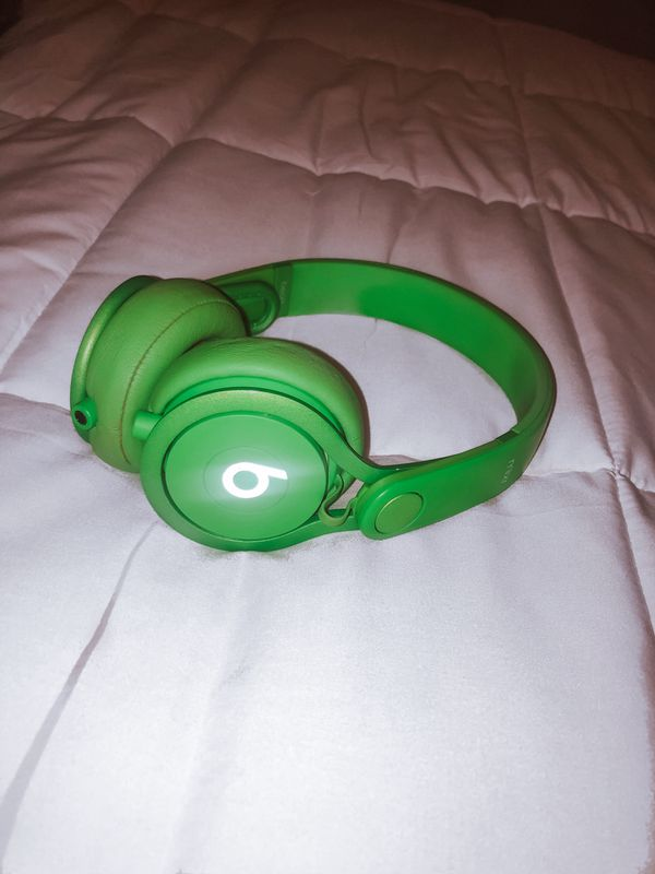 ORIGINAL LIME GREEN beats By Dre Mixr headband headphones