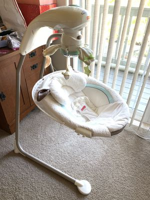 Fisher-Price My Little Lamb Cradle N Swing for Sale in Portland, OR