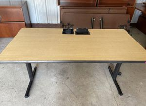 Lab table with outlets for Sale in Houston, TX