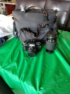 Ricoh SLR Camera and lens for Sale in Los Angeles, CA