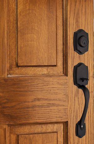 Kwikset Belleview Venetian Bronze Single Cylinder Door Handleset with Cove Door Knob Featuring SmartKey Security for Sale in Redlands, CA