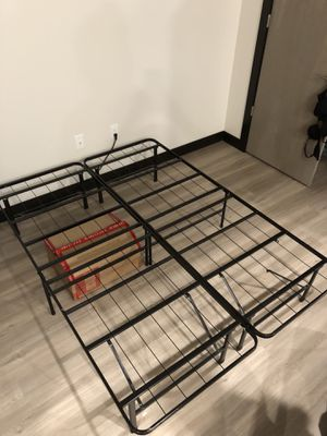 Twin bed frame for Sale in Iowa City, IA