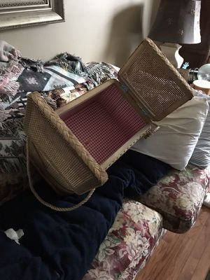 Large Plastic picnic basket for Sale in Alexandria, VA