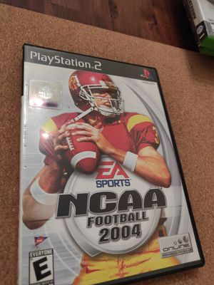 """NCAA Football 2004 """" PS2"""" for Sale in Anaheim, CA"""