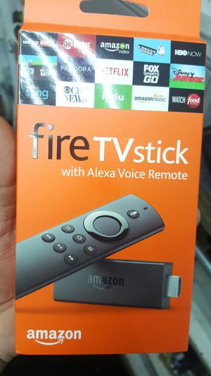 Amazon firestick with voice remote ... FULLY loaded!!! for Sale in Cleveland, OH