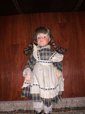 Antique porcelain doll for Sale in Carson, CA