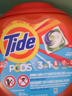 42 Count Tide Pods for Sale in Lynwood,  CA