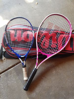 Tennis rackets and balls for Sale in Parma, OH