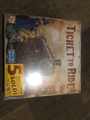 Ticket to ride board game for Sale in Charlotte, NC