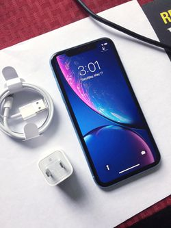 iPhone || XR || iCloud Unlocked || Factory Unlocked || Works For Any SIM Company Carrier || Works For Locally & INTERNATIONALLY || >Like New< for Sale in Springfield,  VA