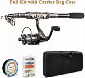 Plusinno Telescopic Fishing Rod Combo Kit for Sale in Los Angeles, CA
