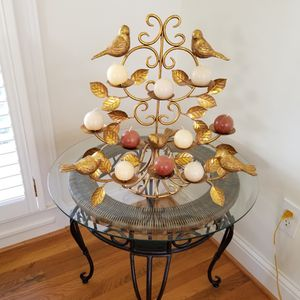 Brass Bird Candle Holder for Sale in Powder Springs, GA