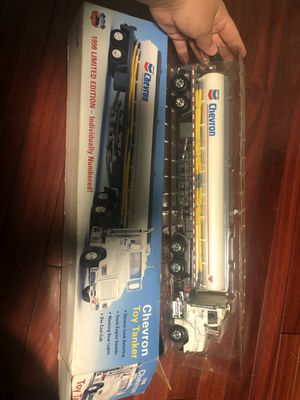Chevron toy tanker classic collectible 1998 limited edition for Sale in Hayward, CA