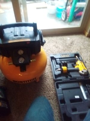 Compressor and gun for Sale in Kirkland, WA