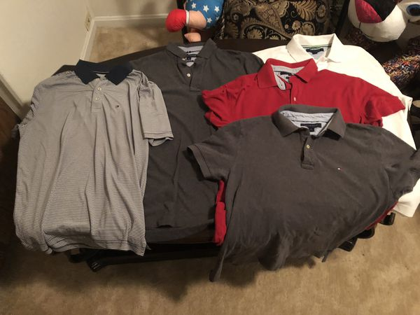 4 Tommy Hilfiger polo shirts VERY CHEAP