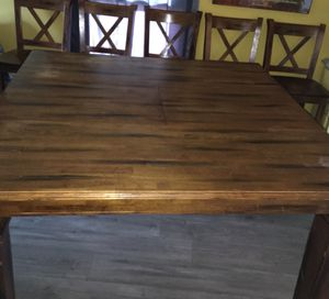 Pub height table and chairs for Sale in Newark, OH