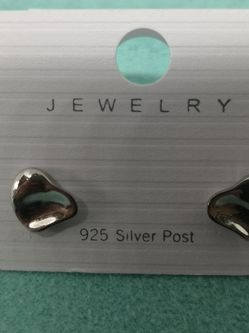 New Silver 925.Earrings. for Sale in Needham,  MA