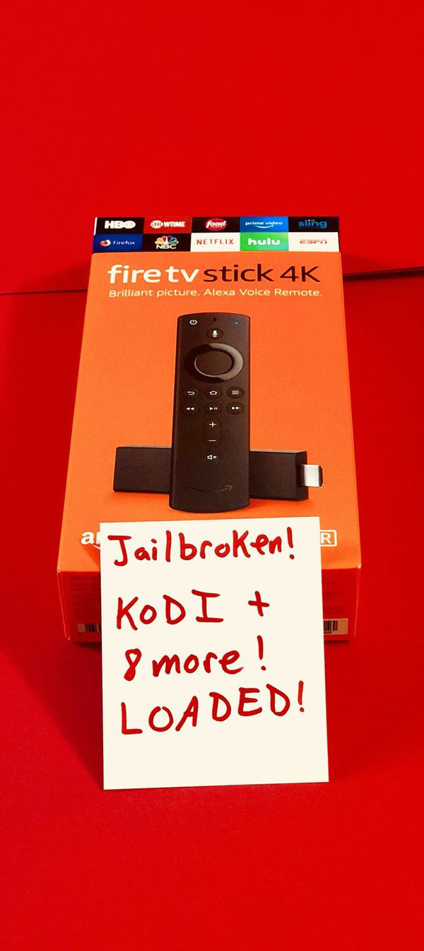 Fire TV Stick with everything and more. Message for details. Pickup In Elizabeth today or have it shipped out