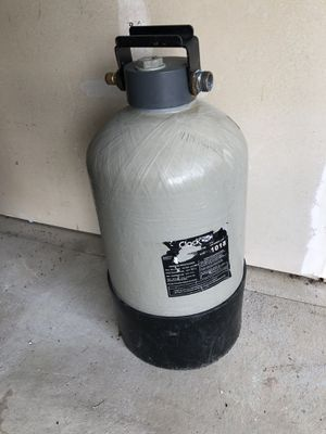 Portable water softener . Plain table saw. For camping for home use for Sale in Omaha, NE
