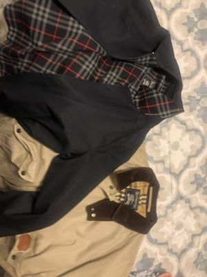Two xl Burberry jackets for Sale in Philadelphia, PA