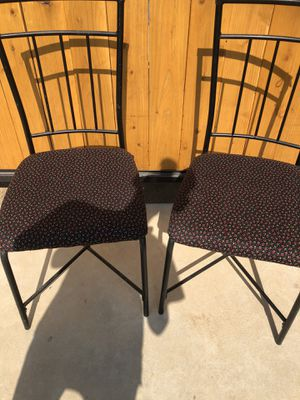 Set of 2 adorable dining chairs for Sale in Clovis, CA