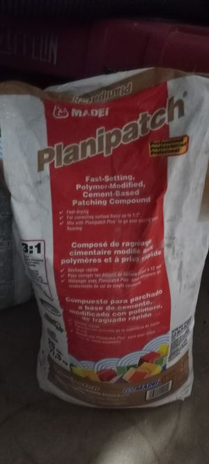 Planipatch 25 Lb bag for Sale in Grand Prairie, TX