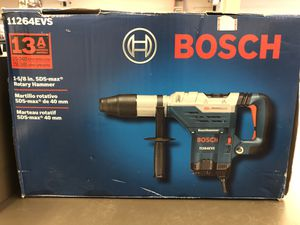 New Bosch 11264EVS 13 amp corded 1-5/8 SDS-Mac combination hammer drill no trades pick up in Tacoma for Sale in Lakewood, WA