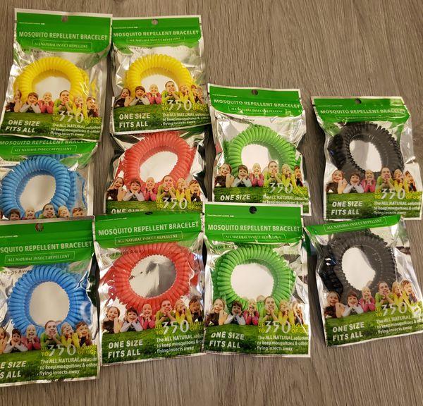 Mosquito Repellent Bracelets (10)