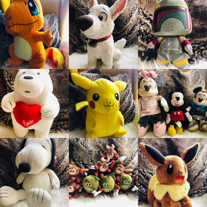 19 PCS PLUSH COLLECTIBLES TOYS for Sale in Los Angeles, CA