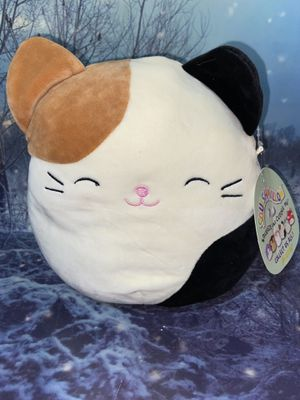 """New Squishmallow Cat Cameron 8"""" plush toy for Sale in Bellflower, CA"""