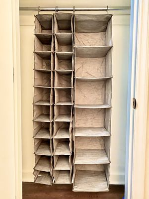 Hanging Closet Storage Organizing Set for Sale in New York, NY