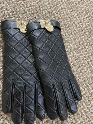 Michael Kors leather gloves Size L for Sale in Franklin, WI