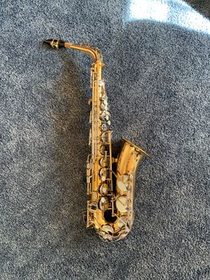 Yamaha YAS-200 ADII Alto Saxophone with Accessories for Sale in Temple City, CA